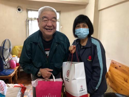青洲老人中心: 為疫症期間的工作團隊加油