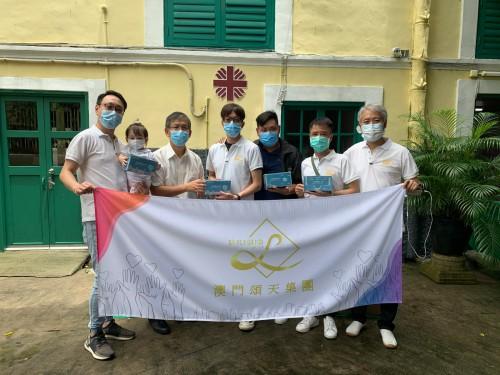 頌天捐贈7,000個口罩予前線醫護人員